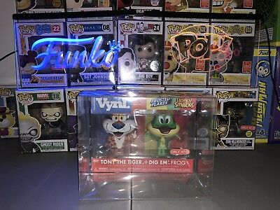 2 Funko POP! Vynl .50mm Thick Plastic Box Protecters Cereal Ad Icon Mint CIB
