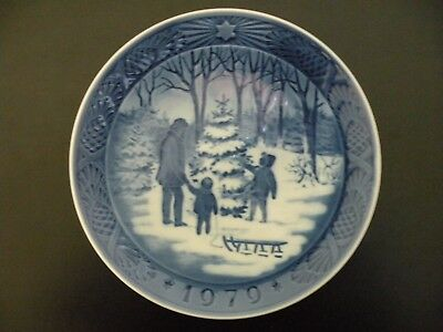 1979 Royal Copenhagen Christmas Plate