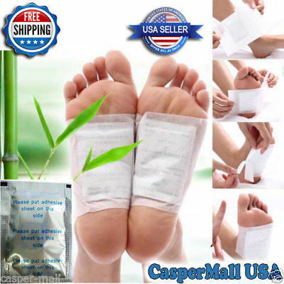 50 PCS Silver Cleansing Detox Foot Pads Patch anti toxin, dampness, Help sleep