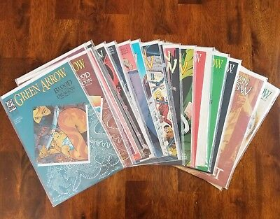 Green Arrow (1987) First Ongoing Series 21-40 Full Run!   VF+/-  Mature