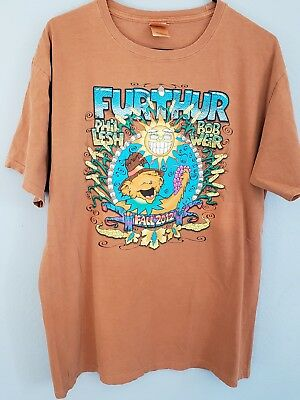 Furthur Bob Weir Phil Lesh Grateful Dead Fall 2012 tour concert t-shirt size L