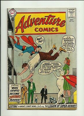 Adventure Comics #310 Dc Comics Vg Condition Legion Of Super-Heroes