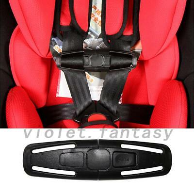 Car Safety Seat belt Clips Child Baby Kids Toddler Chest Harness Safe Buckle New