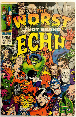 Not Brand Echh #10 Stan Lee Jack Kirby Marvel 1968 6.5 FN+ Silver Age