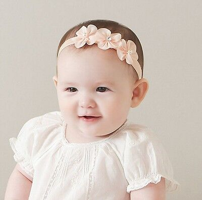 Kids Baby Girl Newborn Headband Elastic Hair Accessories Band Photography Props