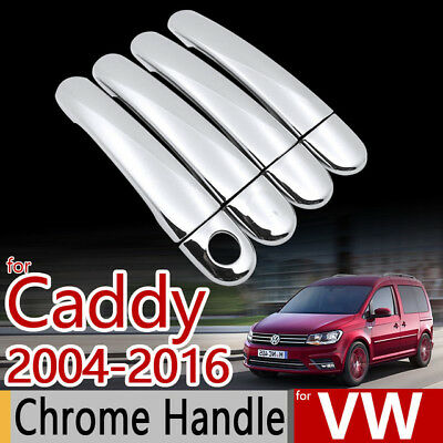 Vw Caddy / Touran / Chrome Door Handles 2003-2015 Stainless Steel 4 Pcs