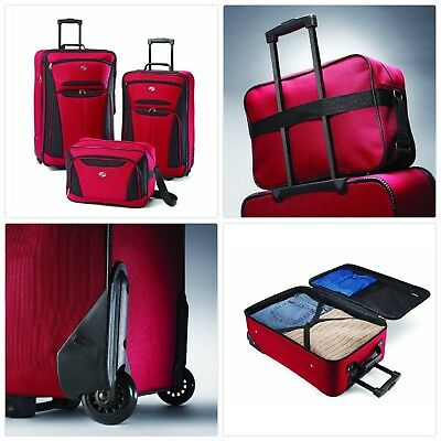 c7100ff82a9d Details about NEW American Tourister Luggage Fieldbrook II 4