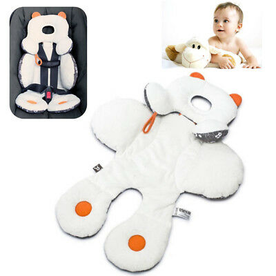 Baby Infant Car Seat Stroller Cushion Pad Liner Mat Head Body Support Pillow