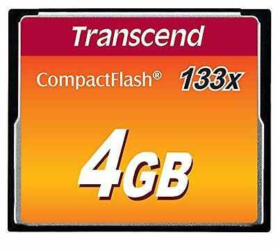 Transcend 4GB 133x Ultra Speed Compact Flash Card