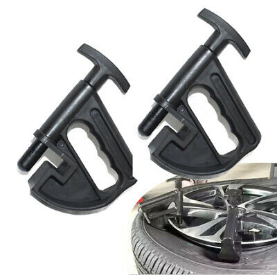 2pcs Portable Manual Tire Changer Bead Clamp Hand Tire Changer Bead Breaker New