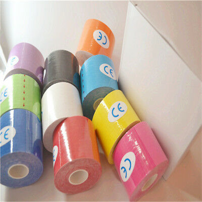 Hot Elastic Kinesiology Tape Muscle Stickers Pain Care Therapeutic Sports Tape
