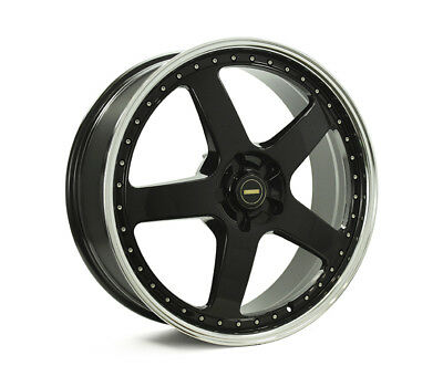 HOLDEN COMMODORE VE TO VF WHEELS PACKAGE: 22x8.5 22x9.5 Simmons FR-1 Gloss Black