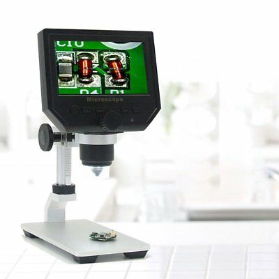 "600X 4.3"" LCD 3.6MP Electronic Digital Video Microscope for Mobile Phone Repair"