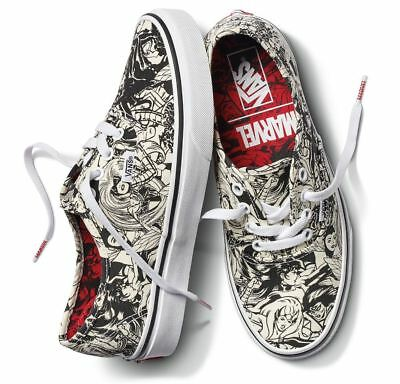 Vans Off The Wall Unisex X Marvel Authentic Shoes - Multi (Size 4.0 - 9.5)