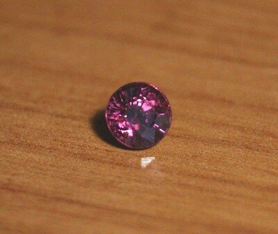 1.34ct Purple Malaya Garnet - Precision Custom Cut Flawless Round
