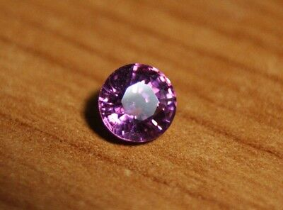 1.22ct Purple Malaya Garnet - Precision Custom Cut Flawless Round