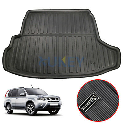 Boot Cargo Liner Trunk Mat For Nissan X-Trail T31 MK2 2008-2013 Floor Tray Black