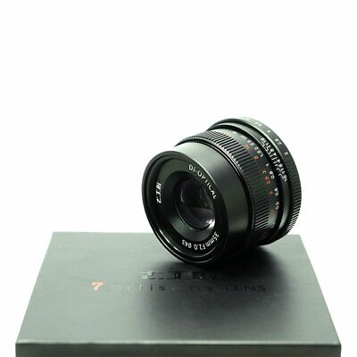 Newest 7artisans 35mm F2.0 Black Full Frame Manual Focus Lens For Sony E-mount