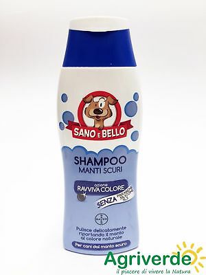 Shampoo Cane Manti Bianchi-Scuri Balsamo e Neutron Sano e Bello 250 ML - BAYER