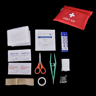 Waterproof Mini Outdoor Car First Aid kit Medical Box Emergency Survival kit LJ