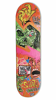 "skateboard by @matdisseny - skate art recycled deck ""Back from dead"""