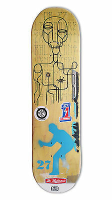 "skateboard by @matdisseny & @drhofmann27 - skate art recycled deck ""Collab"""