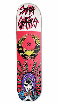 "skateboard by @matdisseny - skate art recycled deck ""In graphics we trust"""