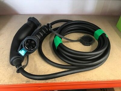 Genuine Nissan Leaf Fast Charge Charging Point Cable New Public 296M14Fa1C