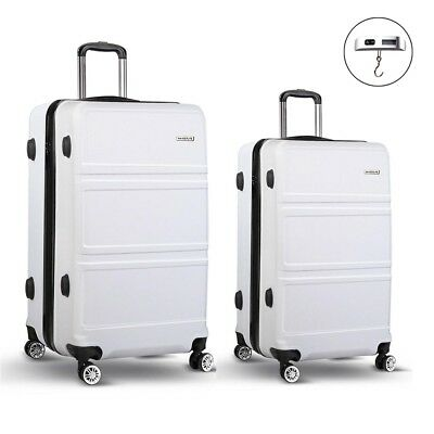 "20"" 28"" Hard Shell Luggage Lightweight Trolley Cabin Travel Suitcase TSA Lock"