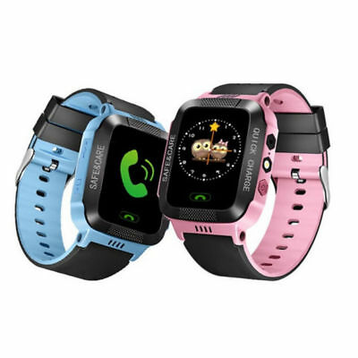Waterproof Anti-lost Safe GPS Tracker SOS Call Kids Smart Watch For Android iOS
