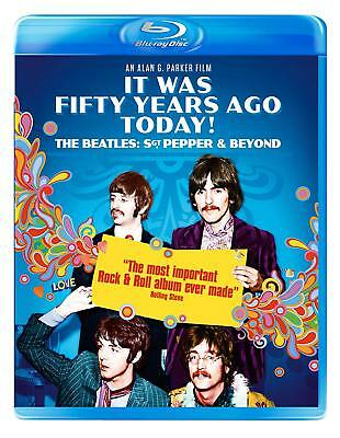 It Was 50 Years Ago Today The Beatles Sgt Pepper & Beyond Blu-Ray * NEW FREE P&P