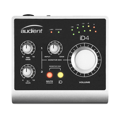 Audient iD4 2-In/2-Out Audio Interface 888680890704