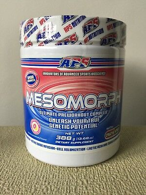 Aps Mesomorph Pre Workout Original Formula - Pink Lemonade - Last Few Tubs