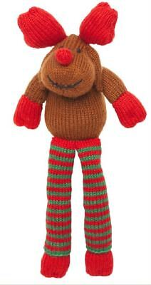 DK Toy Knitting Pattern for Super Cute Xmas Rudolph     (189)