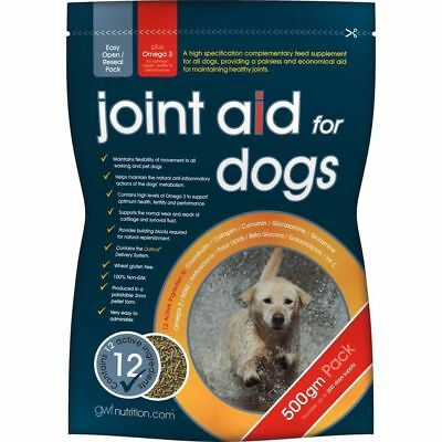 GWF Joint Aid for Dogs 500 g Arthritis Healthly Joints + Glucosamine