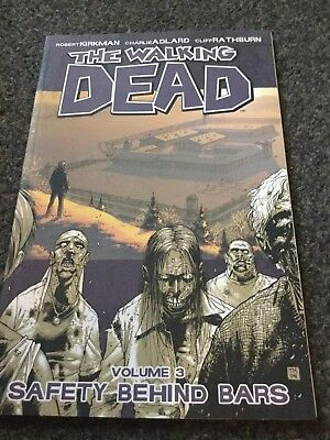The Walking Dead, Vol 3: Safety Behind Bars Graphic Novel Excellent Condition