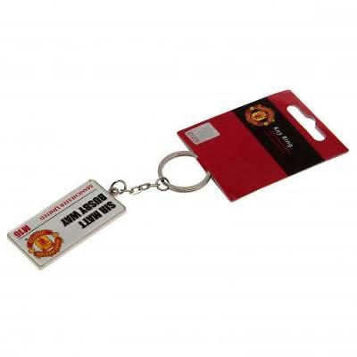 MANCHESTER UNITED F.C. Keyring SS  OFFICIAL LICENSED MERCHANDISE GIFT