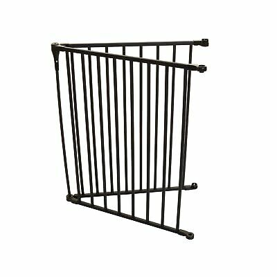 Dreambaby Kids Royale Converta 3 in 1 Play Pen Gate 2 Panel Extension Black