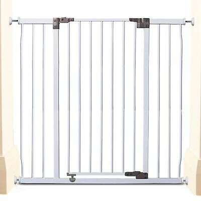 Dreambaby Baby / Kids Liberty Xtra Tall & Xtra Wide Safety Gate White F1963