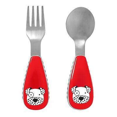 Skip Hop Baby / Kids / Childs Zoo-tensils Fork And Spoon Dalmation 252368