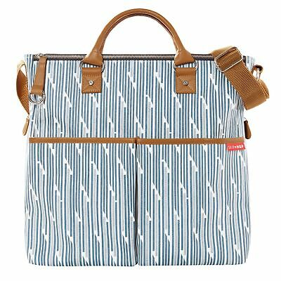 Skip Hop Baby / Kids Duo Special Edition Changing Bag Blueprint Stripe 200316