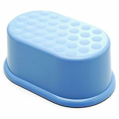 The Neat Nursery Co. Baby / Kids / Childs Long Step-Up Stool Blue 854269