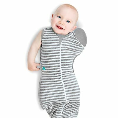 Love To Dream Baby / Kids / Childs Swaddle Up 50/50 Extra Large Grey LMSF-XL-GY