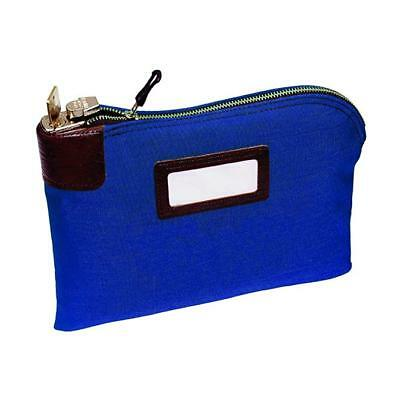 Seven-pin Security/Night Deposit Bag with 2 keys, 11 x 8-1/2 Inches, Royal Blue