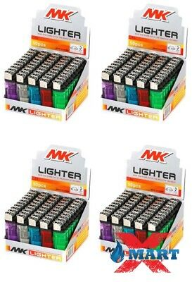 200 MK Classic Full Size Cigarette Lighter Disposable Lighters Wholesale Lot
