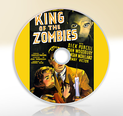 King Of The Zombies (1941) DVD Classic Horror Film / Movie Dick Purcell