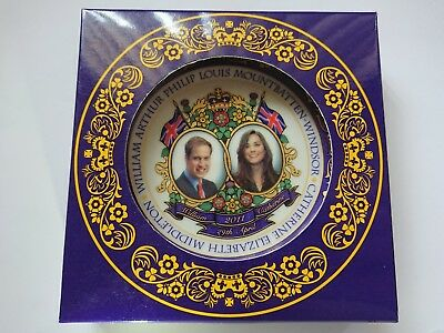 Royal wedding. Prince William & Catherine Middleton Souvenir Plate