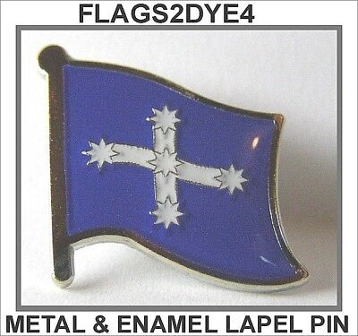 Eureka flag metal enamel lapel pin badge INCLUDES AUSTRALIA POST TRACKING