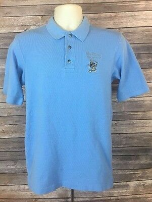 Men's Walt Disney Imagineering Blue Polo Shirt Imagineer Exclusive Size Small