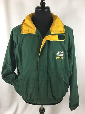 Carl Banks G-III Mens Size XL Green Bay Packers Vintage NFL 100% Leather  Jacket.